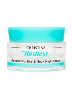 Christina Unstress Harmonizing Night Cream for eye and neck